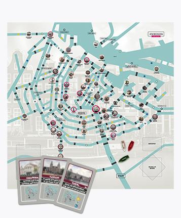 Patrimonia Amsterdam bordspel